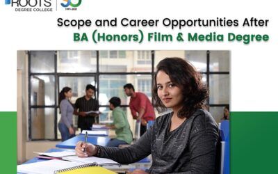 Scope And Career Opportunities After BA (Honors) Film & Media Degree